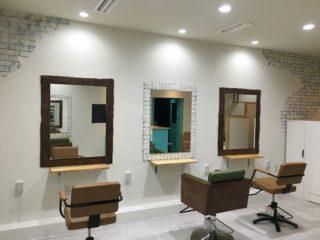 美容室シュシュルノン内装リフォーム