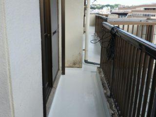 沖縄 集合住宅 _0002 ベランダ防水工事3