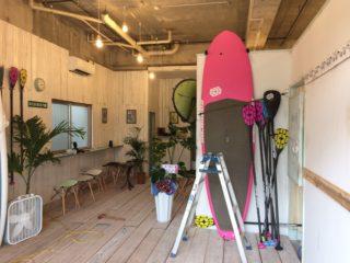 沖縄のリフォーム事例、店舗(ダイビングショップ)