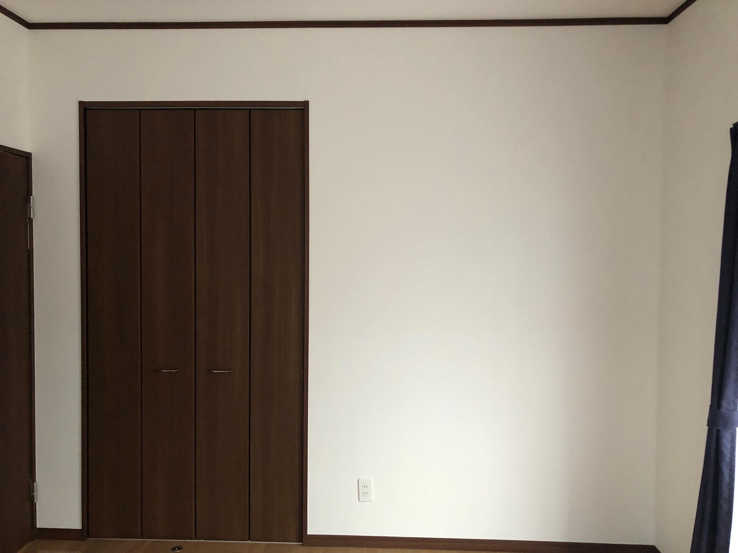 洋室Aの塗装前