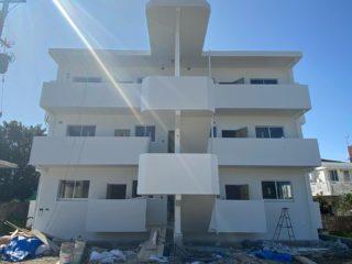 沖縄 新築 塗装工事